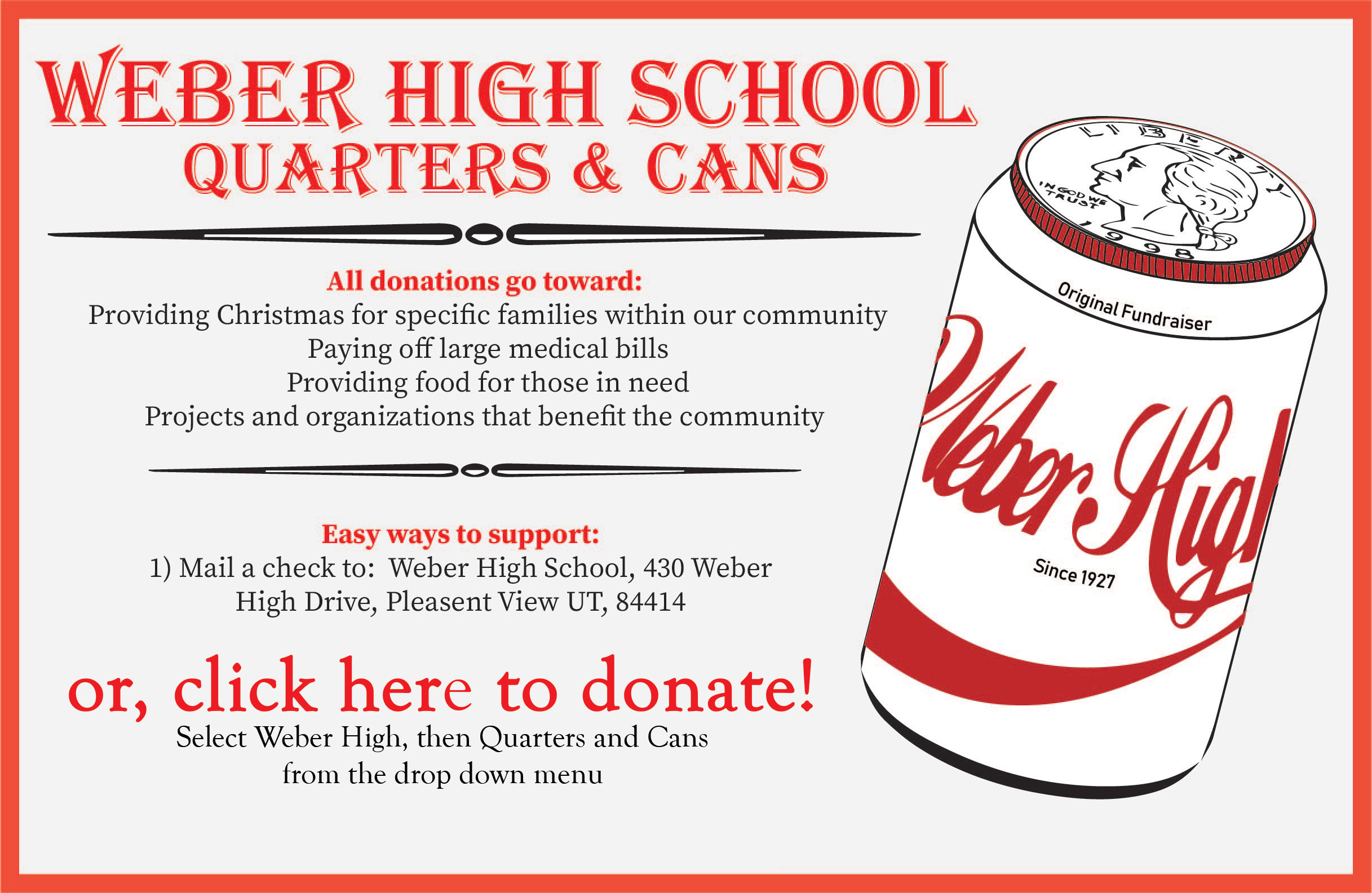Donate to Quarters and Cans!