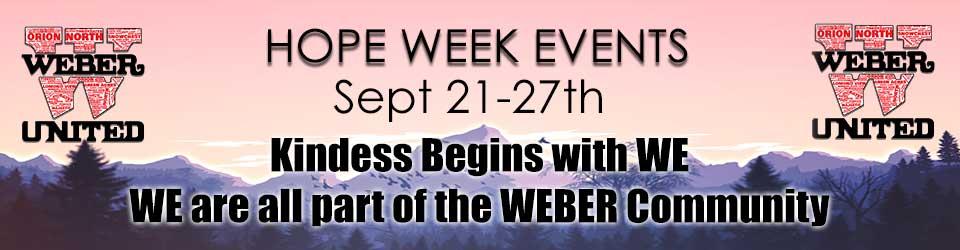 Hope Week Information